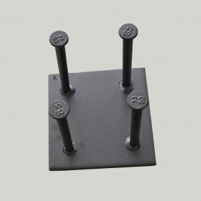 Precast Concrete Insert Steel Welding Fastening Plate with Studs